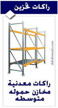 Medium shelving racks